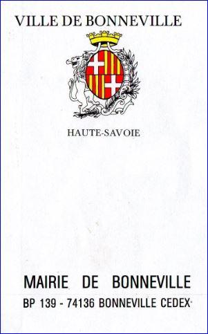 L 39 armorial for Piscine de bonneville
