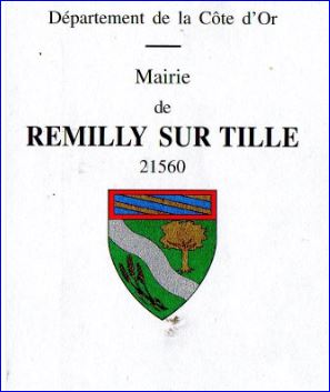 L 39 armorial for Remilly sur tille