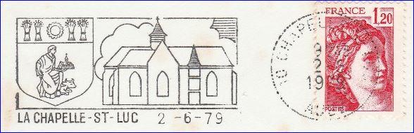 L 39 armorial for Piscine chapelle saint luc