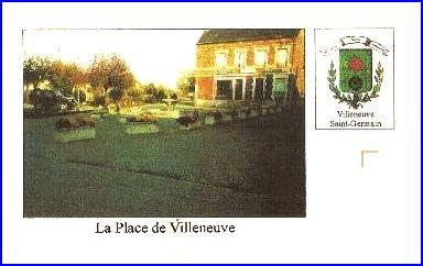 L 39 armorial for Bureau 02 villeneuve saint germain