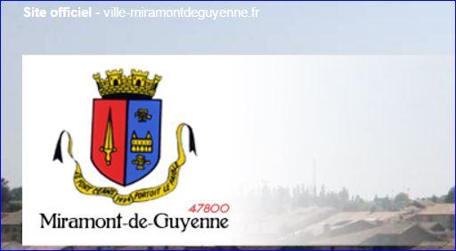 L 39 armorial for Piscine miramont de guyenne