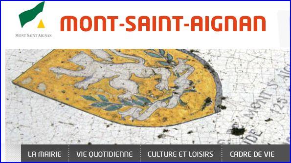 L 39 armorial for Piscine mont saint aignan